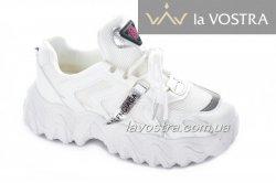 Кросівки жіночі Seastar 6999 (весна-літо-осінь, білий, еко-шкіра)