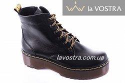 Ботинки женские Maria Sonet 7012 (весенне-осенние, черный, кожа)