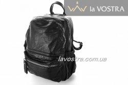 Рюкзак жіночий G&F 6528 (чорний, еко-шкіра)