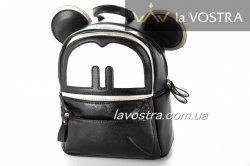 Рюкзак жіночий G&F 6286 (чорний, еко-шкіра)