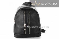 Рюкзак жіночий G & F 6527 (чорний, еко-шкіра)