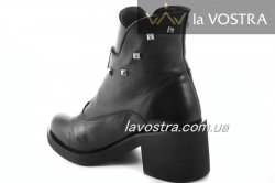 Ботинки женские Devis 5227 (зимние, черный, кожа)