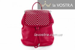 Рюкзак L&H 3604 (червоний, еко-шкіра)