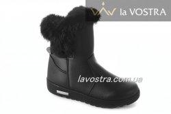 Ботинки женские Seastar 2742 (зимние, черный)