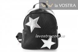 Рюкзак жіноча Miss moda 3512 (срібло, еко-шкіра)