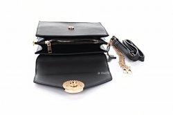 Сумка жіноча D & Bags 7825 (чорний, еко-шкіра)