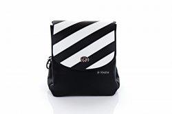 Сумка-рюкзак женская D&Bags 7828 (черный-белый, эко-кожа)
