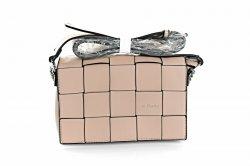 Сумка жіноча D & Bags 7817 (Апрікот, еко-шкіра)