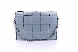 Сумка женская D&Bags 7821 (голубой, эко-кожа)