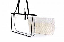 Сумка пляжная женская D&Bags 7838 (белый, текстиль)