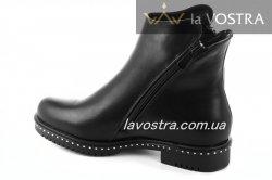 Ботинки женские Weide 6857 (зимние, черный, эко-кожа)