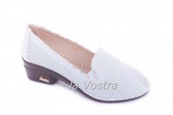 Туфли женские B19-1 (осень-лето-весна, белый)