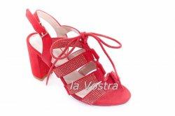 Босоніжки жіночі 20236 (літні, червоний)