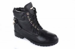 Ботинки женские Seastar 2747 (весенне-осенние, черный)