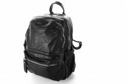 Рюкзак женский G&F 6528 (черный, эко-кожа)