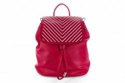 Рюкзак  L&H 3604 (красный, эко-кожа)