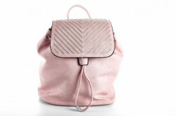 Рюкзак женский L&H 3605 (розовый, эко-кожа)