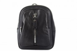 Рюкзак-сумка :женская Angela 6273 (черный, эко-кожа)