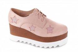 Туфли женские Seastar 4910 (весна-лето-осень, розовый)