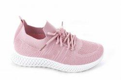 Мокасини жіночі Seastar 7131 (літо, рожевий, текстиль)