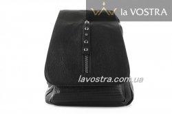 Рюкзак женский  6949 (черный, эко-кожа)