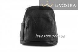 Рюкзак женский Fashion 6943 (черный, эко-кожа)
