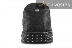 Рюкзак женский G&F 6944 (черный, эко-кожа)