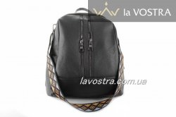 Рюкзак женский G&F 6942 (черный, эко-кожа)