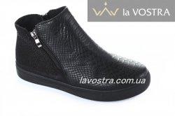Ботинки женские Sport 2804 (весенне-осенние, черный)