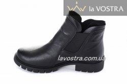 Ботинки женские Днепр 2681 (весенне-осенние, черный)