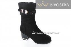 Ботинки женские Seven 2721 (весенне-осенние, черный)