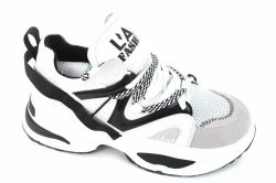 Кросівки жіночі VEAGIL 6278 (весна-літо-осінь, чорний, еко-замш)