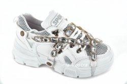 Кросівки жіночі Yes mile 6308 (весна-літо-осінь, білий, еко-шкіра)
