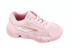 Кросівки жіночі VEAGIL 5872 (весна-літо-осінь, рожевий, еко-шкіра)