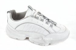 Кросівки жіночі Comer 3277 (весна-літо-осінь, білий, еко-шкіра)