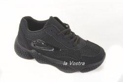 Кросівки жіночі A.A 5637 (весна-літо-осінь, чорний, еко-шкіра)